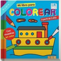 Mi Libro Para Colorear Barco Vv Aa Comprar Libro